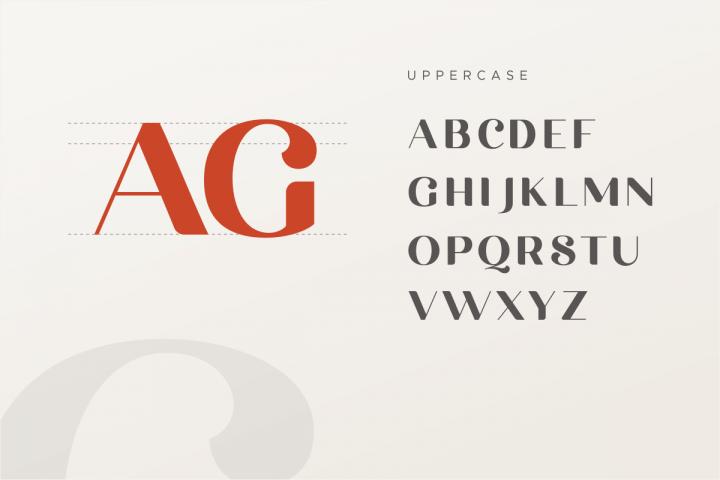 michael beautiful ligature font example image 13