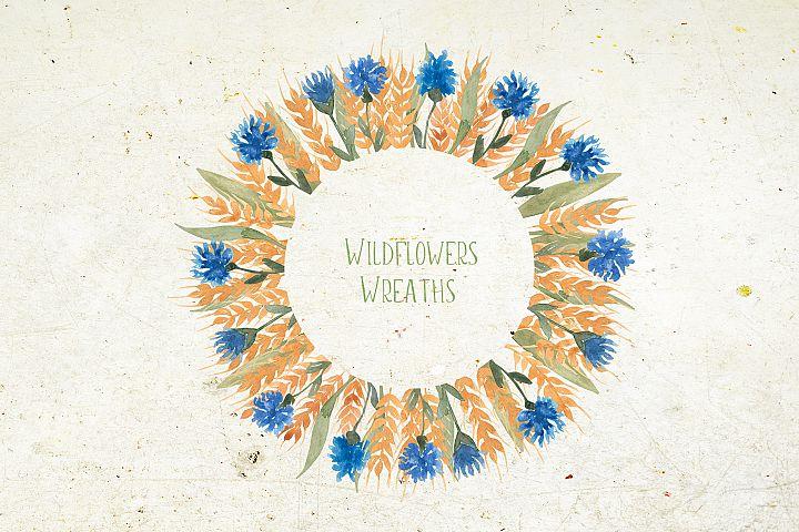 Wildflowers wreaths