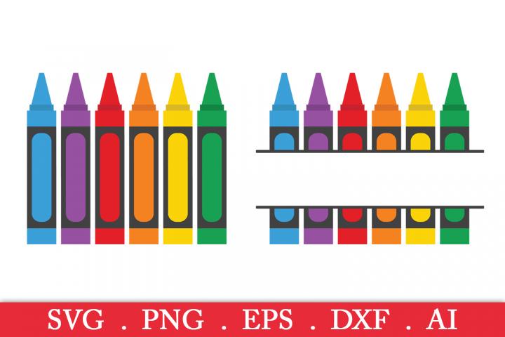 SALE! Crayon svg, crayon monogram svg, crayola svg