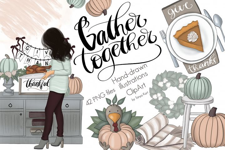 Gather Together Graphic Design Kit