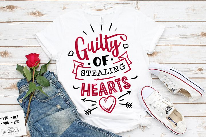 Guilty of stealing hearts SVG