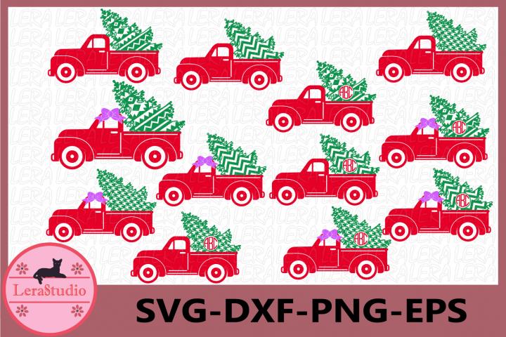 Christmas Tree Truck svg, Christmas Truck SVG, Christmas Svg