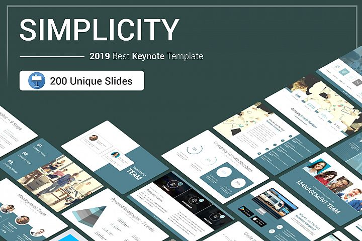 Simplicity Keynote Template