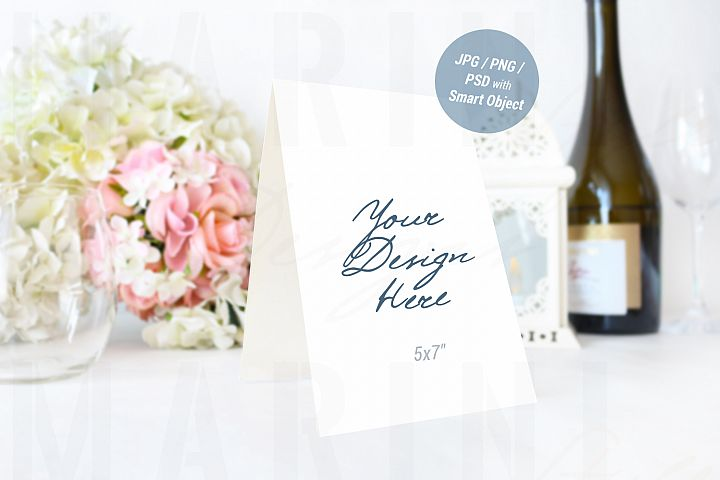 Wedding card mockup, Table Number Mockup, Sign Mockup, 938