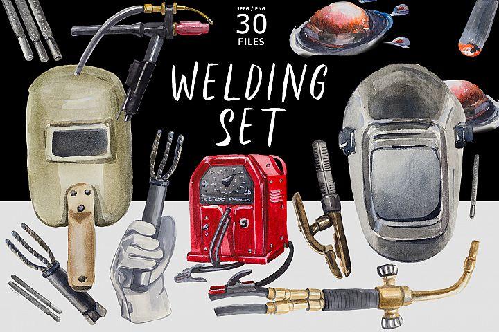 Welding set
