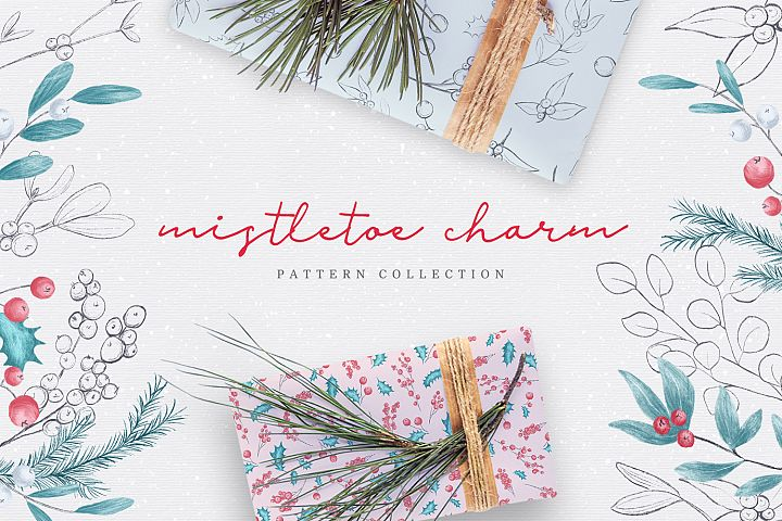 Mistletoe Charm - Pattern Set