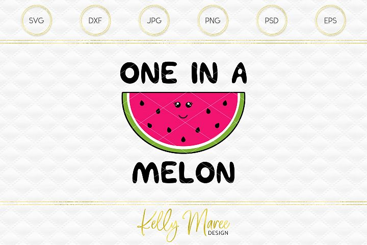 One In A Melon SVG File