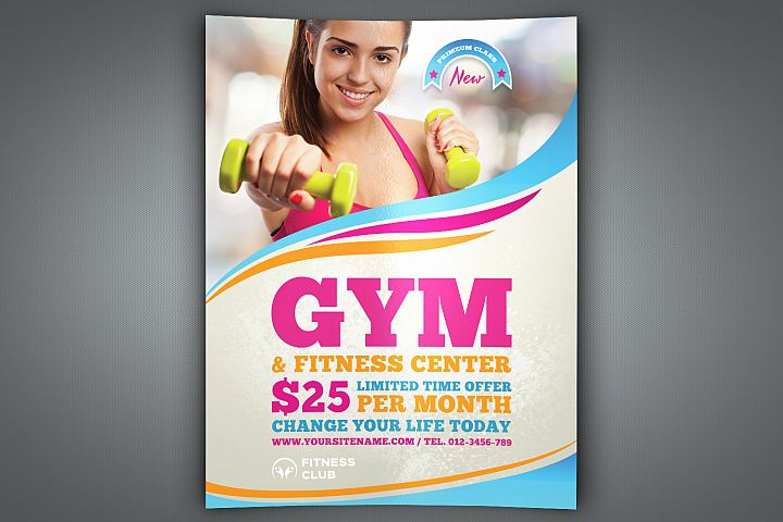 Fitness - GYM Flyer Template