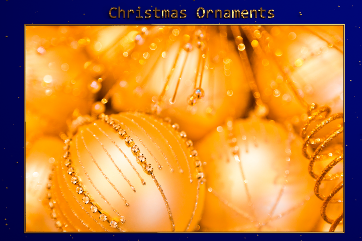 XMAS - Christmas Ornaments Lr Presets
