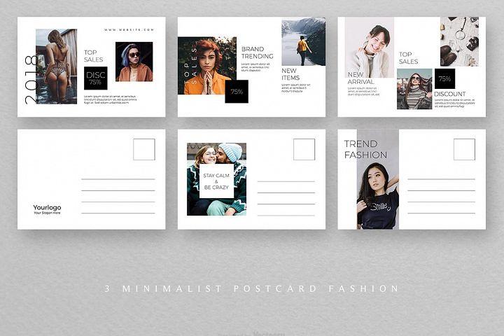 Fashion Postcard Templates