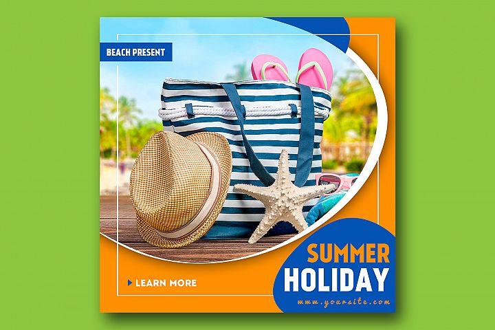 Summer Instagram Banner