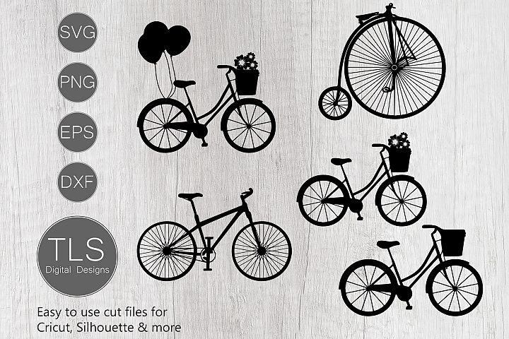 Bicycle SVG, Bike SVG cut file