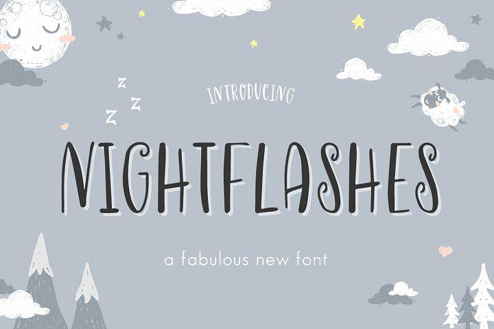 Nightflashes Font