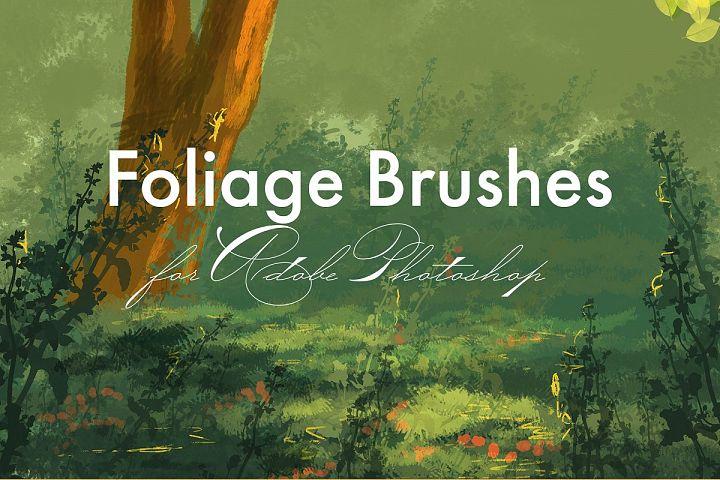 Foliage Brushes for Adobe Photoshop
