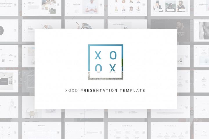 XOXO-Minimal Powerpoint Template