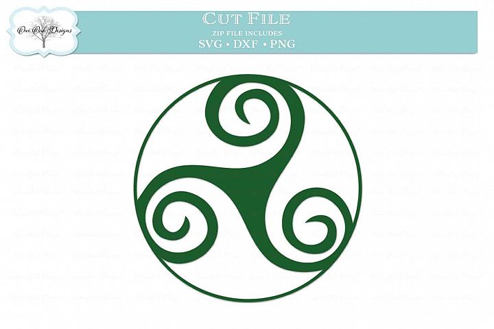 Celtic Circle Triskell
