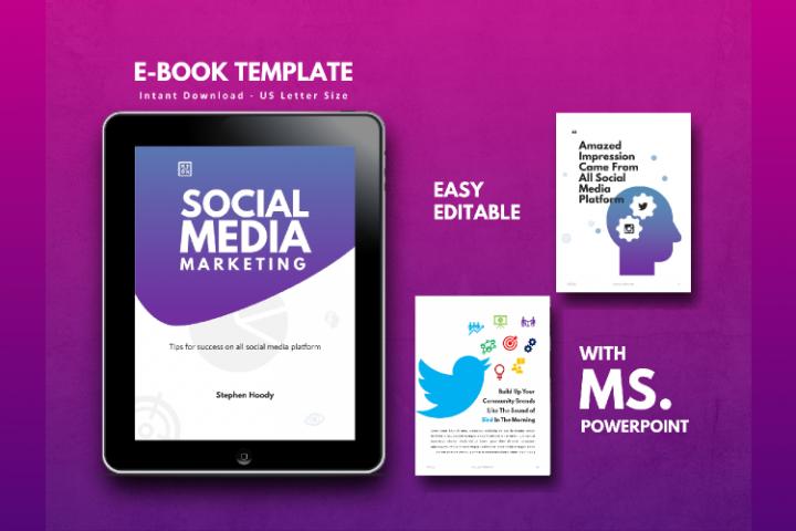 Social Media Tips & Marketing eBook Template