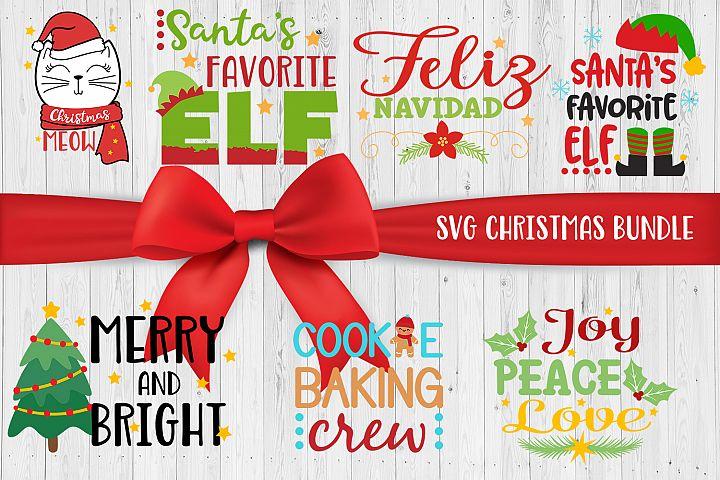 Christmas Bundle SVG DXG JPG Clipart Vector Printable files