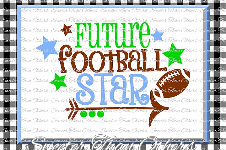 Football Svg, Future Football Star svg,