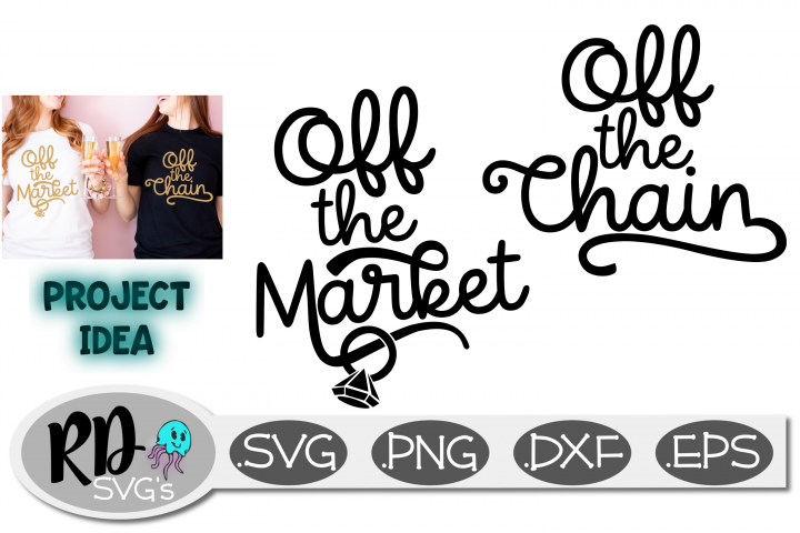 Off the Chain Off the Market SVG - A Smooth Cutting File