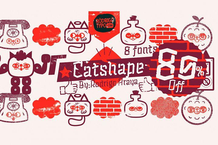 Catshape -80 Off / Fast Sale