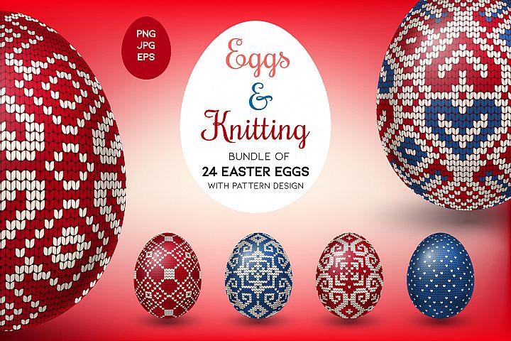 Eggs & Knitting