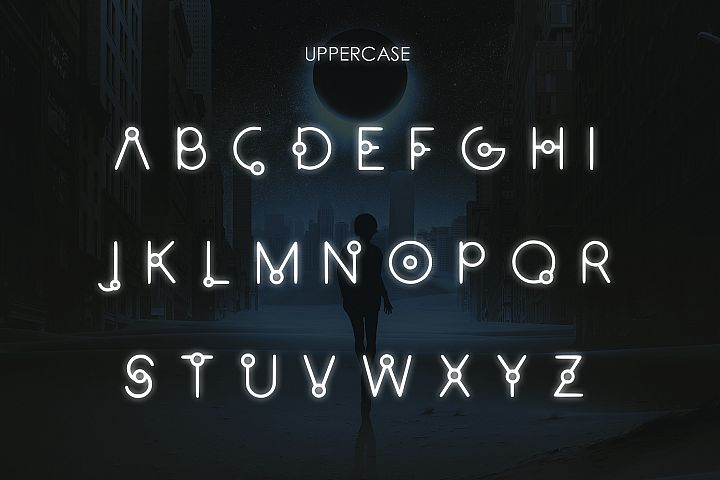 EQUINOX - A Font for the Space Age example image 3