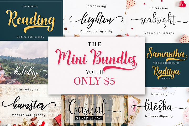 THE MINI BUNDLES VOL. II ONLY $5