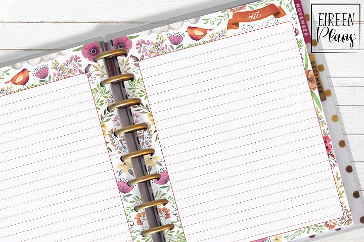 Notes Printable for Classic Happy Planner