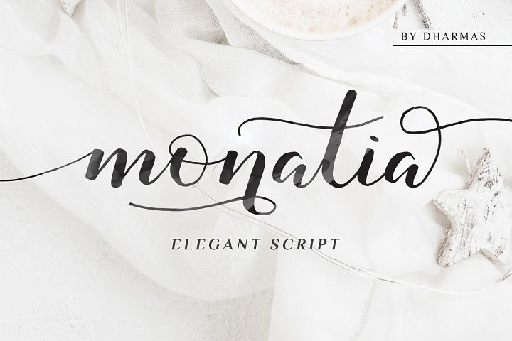 Monatia - Elegant Script
