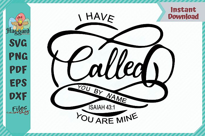 HHD I Have Called You By Name SVG