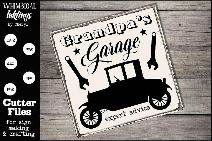 Grandpas Garage-Model T-SVG
