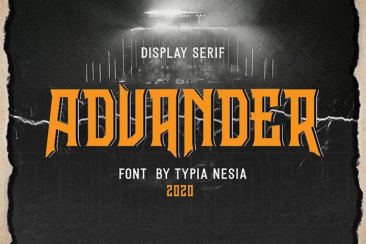 Advander Display