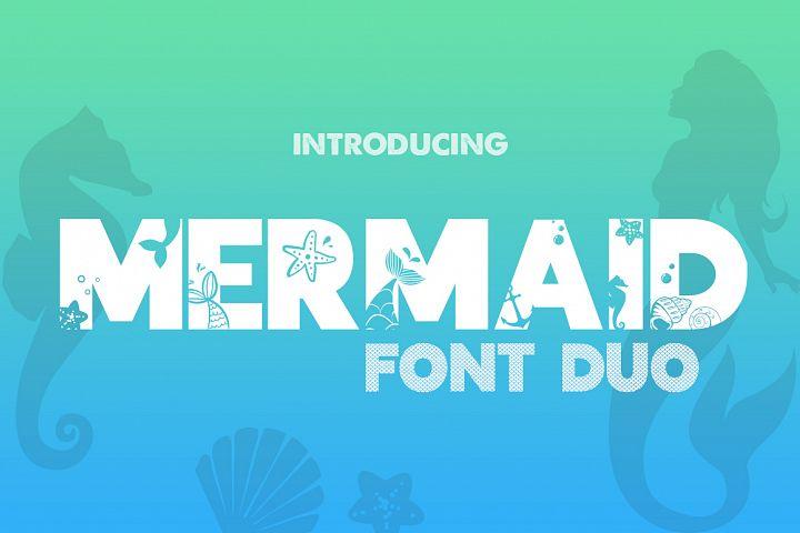 Mermaid Font Duo