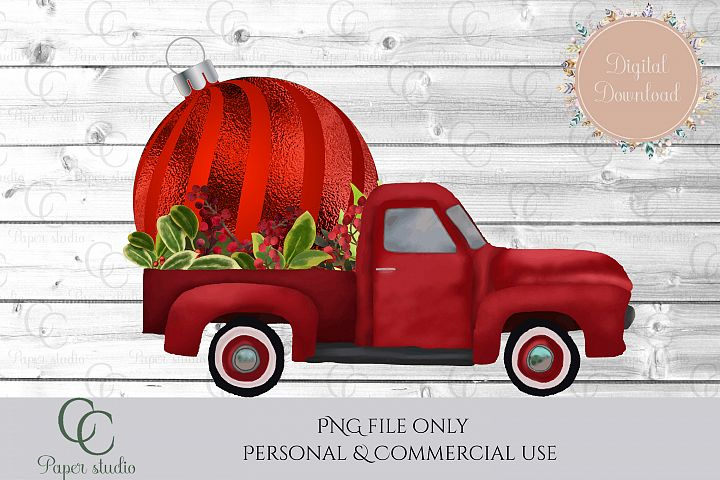 Bauble Truck - christmas
