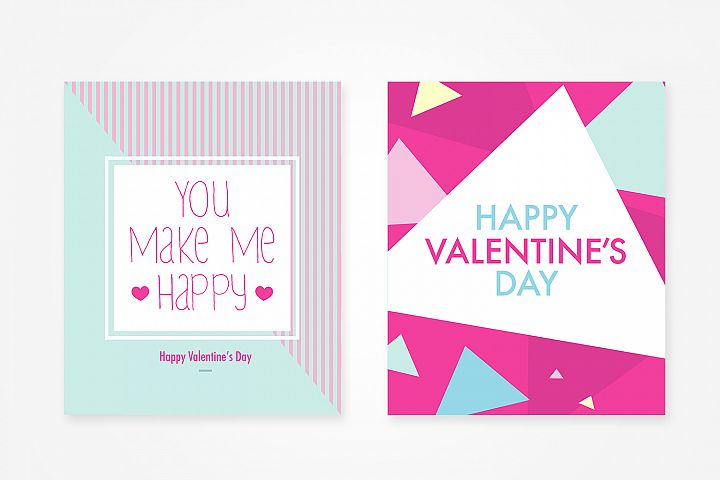 4 Valentines Day Beautiful Card Design