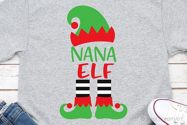 Nana Elf SVG, DXF, PNG, EPS