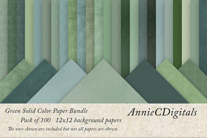 Green solids digital paper bundle