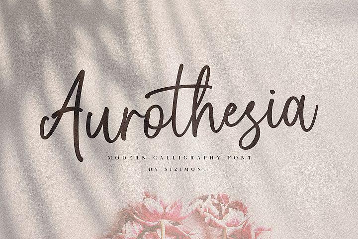 Aurotheisa Font Duo!