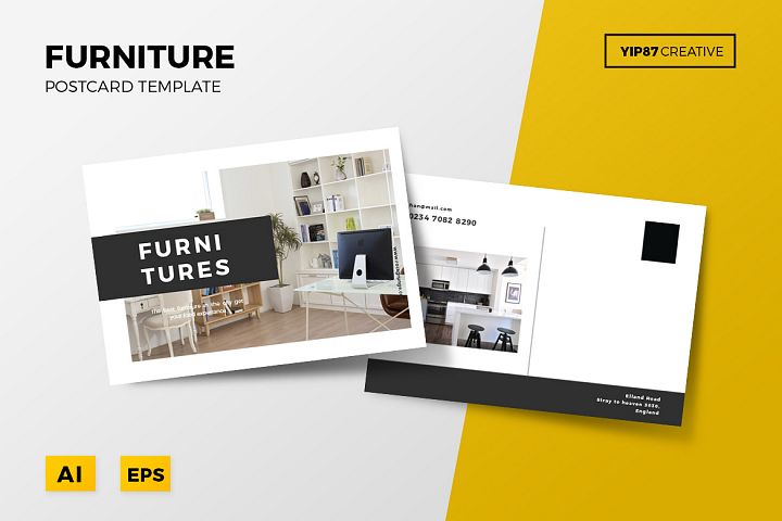Furniture Postcard
