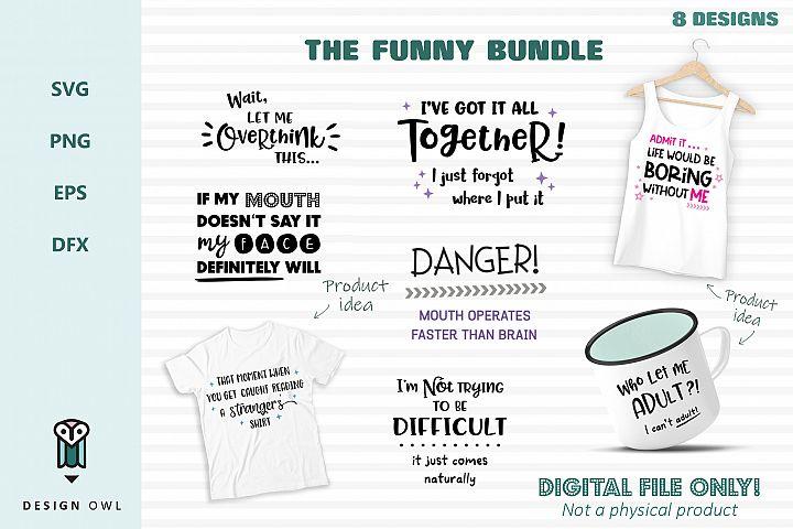 The Funny Bundle- SVG cut file bundle