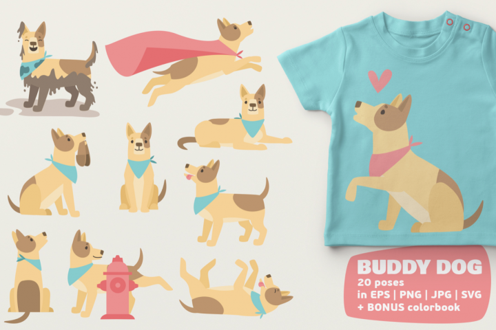 Dog Bundle - Free Design of The Week Font