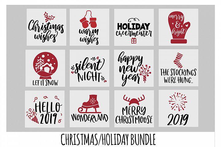 Christmas SVG Bundle, New Years SVG, Mittens SVG, Cricut SVG