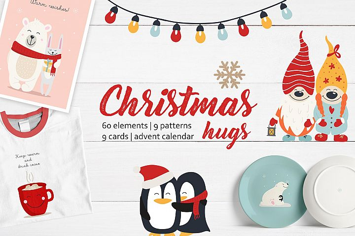 Christmas hugs collection