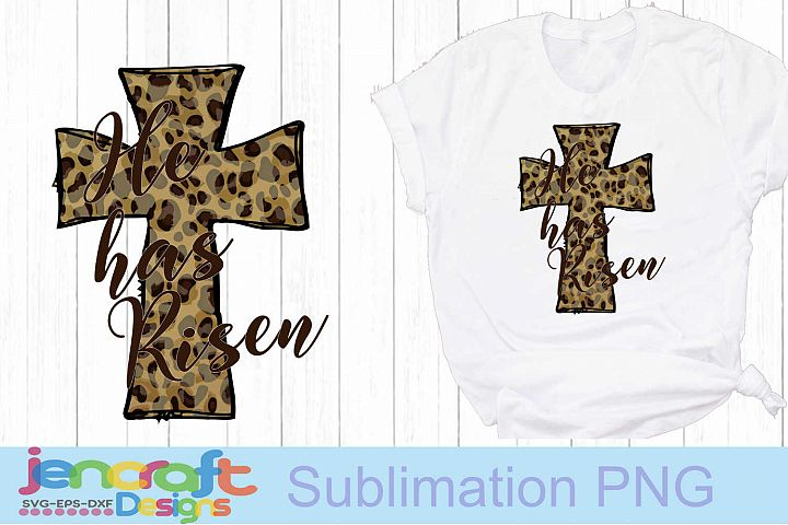 He has Risen Sublimation, Christian Easter Png, Jesus Png
