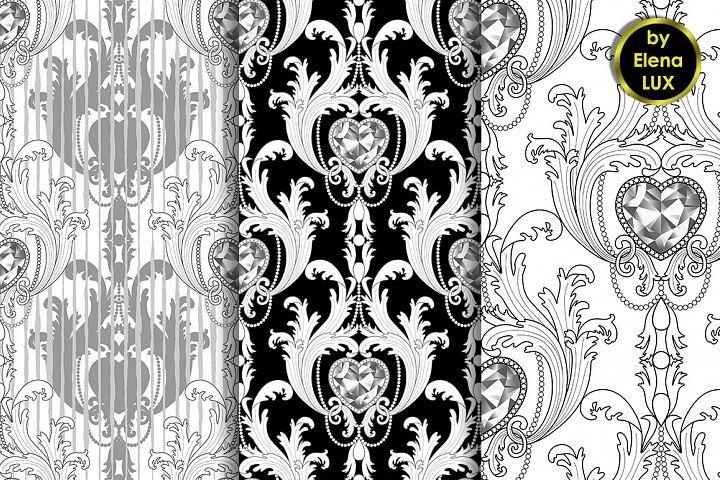 Baroque Seamless Set