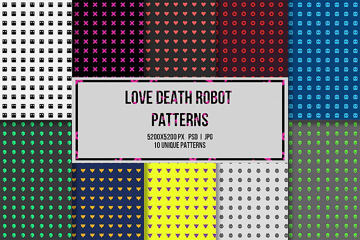 10 Love Death Robot Patterns