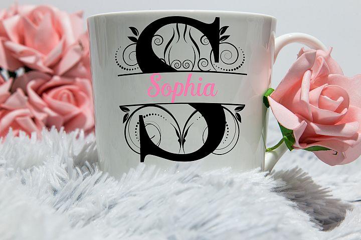 New Split Letters 2 A-Z SVG,Split Alphabet svg