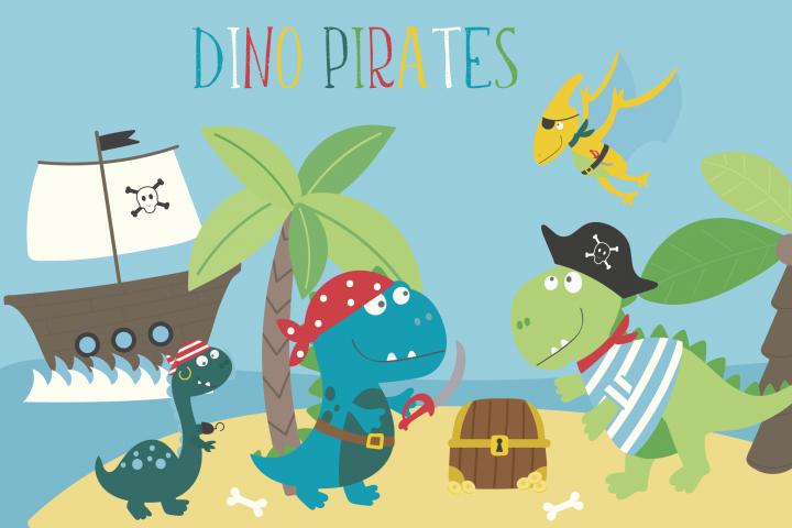 Dino Pirates