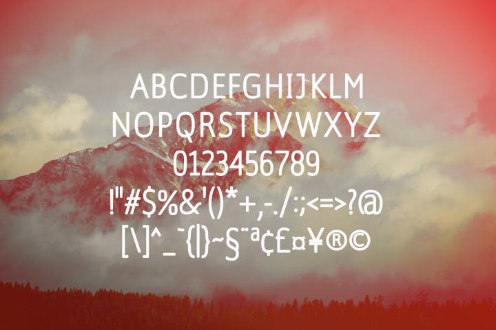Amsterdam Bold Versionl Elegant font sans serif